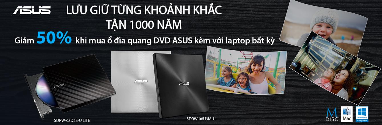 CTKM CHO SẢN PHẨM Ổ QUANG DVD ASUS - Nhóm hàng