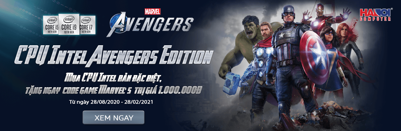 LKMT CPU Intel Marvel's Avengers