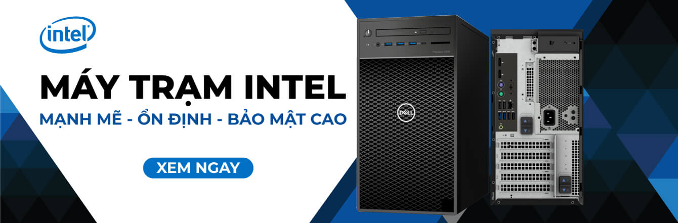 PCWS Landing Page Intel Máy Trạm