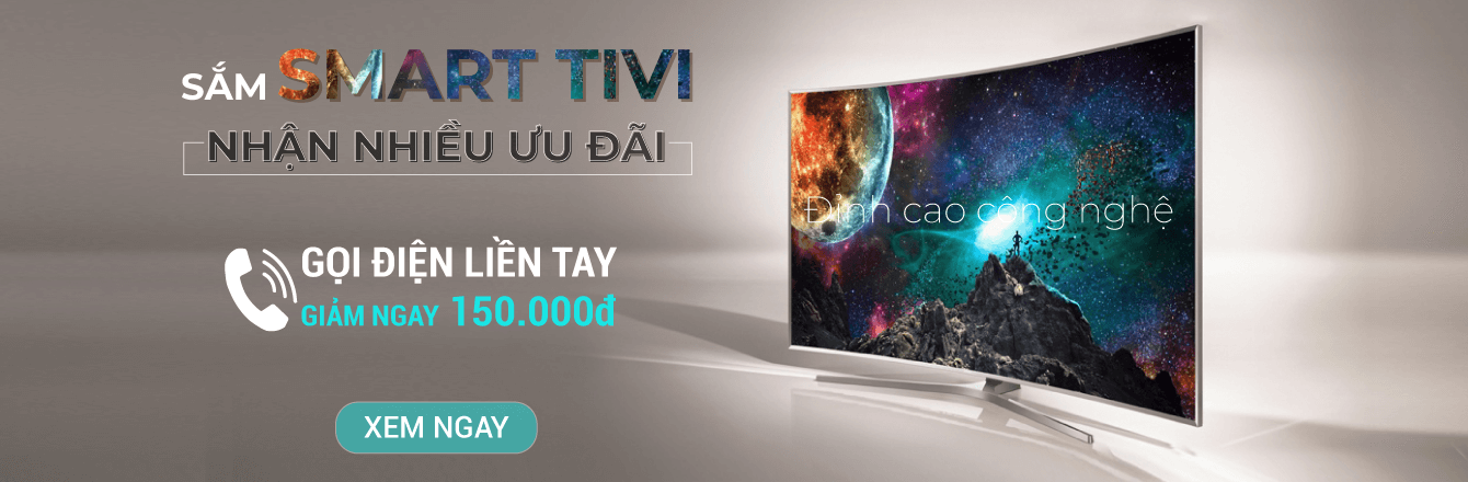 TBGD Smart TV giảm 150K