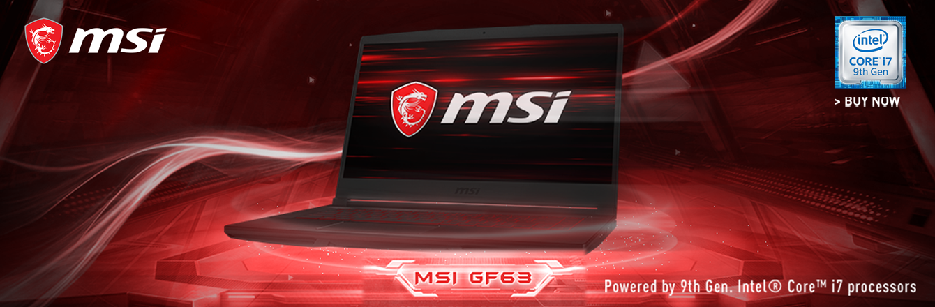 LAPTOP MSI GF63