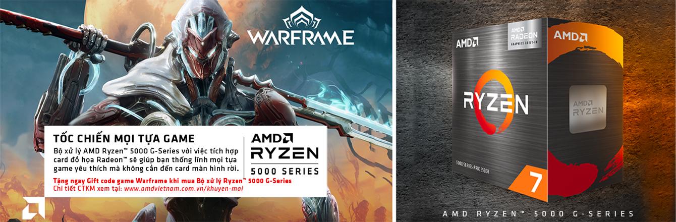 AMD Ryzen 5 5600G - nhóm hàng
