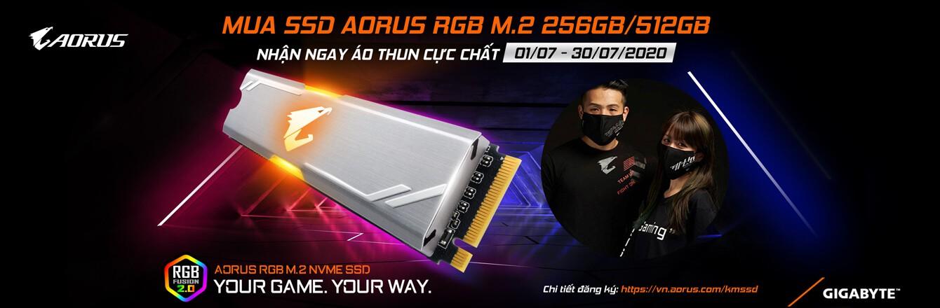 SSD AORUS áo thun