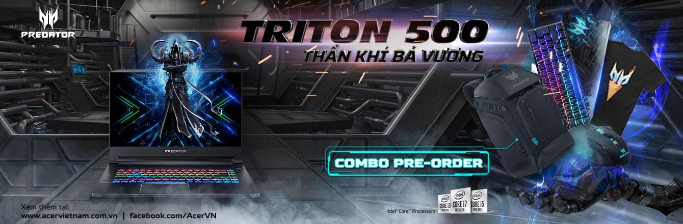 Pre-Order Acer Predator Triton 500