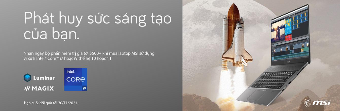 Phần mềm sáng tạo MSI - nhóm hàng