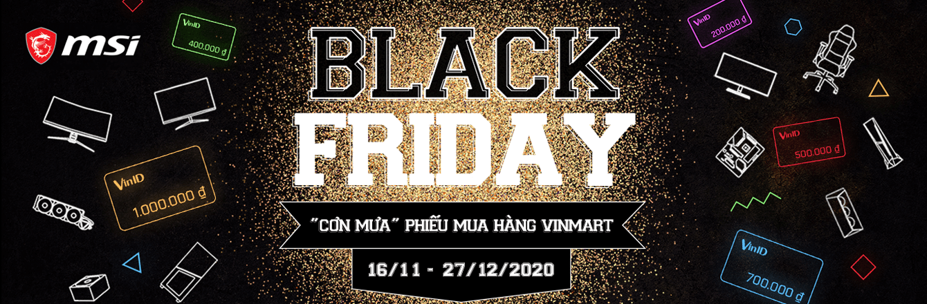 LKMT, MÀN HÌNH, COOL, GEAR MSI BLACK FRIDAY