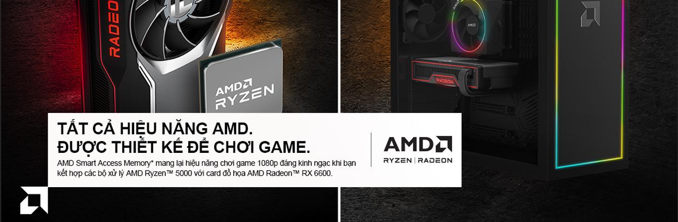 AMD - banner Radeon RX 6600 - nhóm hàng