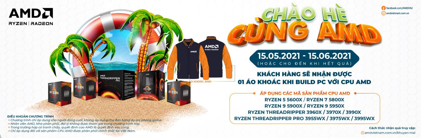 Khuyến mại chào hè cực đã cùng AMD -2