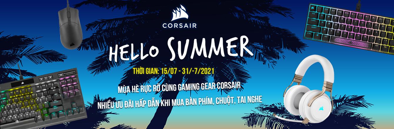 Khuyến mại Corsair Gear – Campaign - nhóm hàng