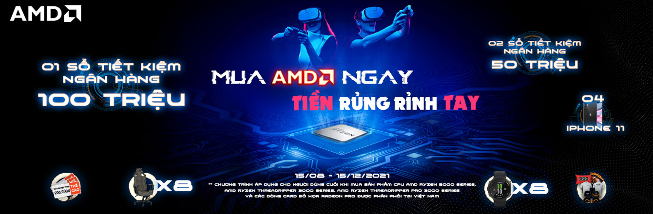 Mua AMD Ngay - Tiền Rủng Rỉnh Tay - Slide