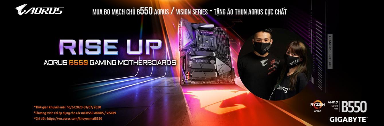 Mainboard B550 AORUS / VISION