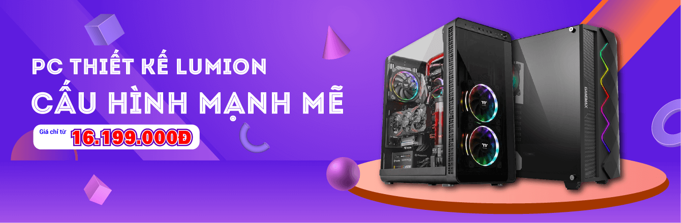 PCWS PC Thiết kế Lumion