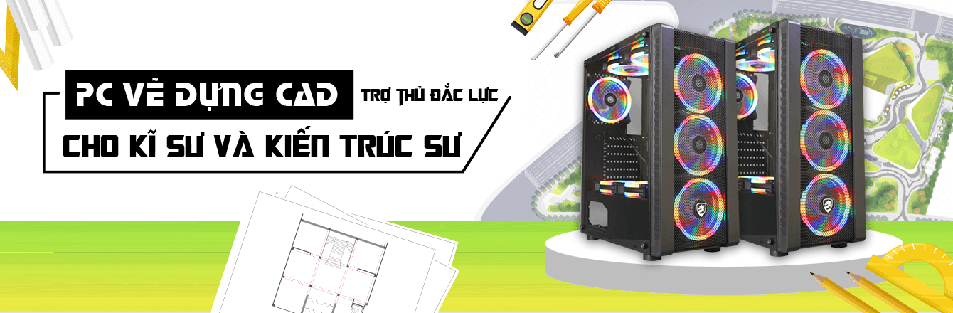 PCWS PC Vẽ dựng CAD