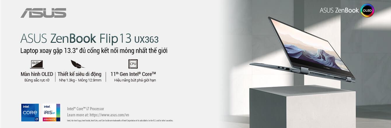 Laptop Asus Zenbook Flip 13 UX363