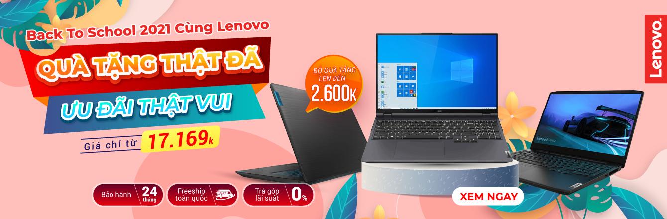 Lenovo - Back To School- nhóm hàng
