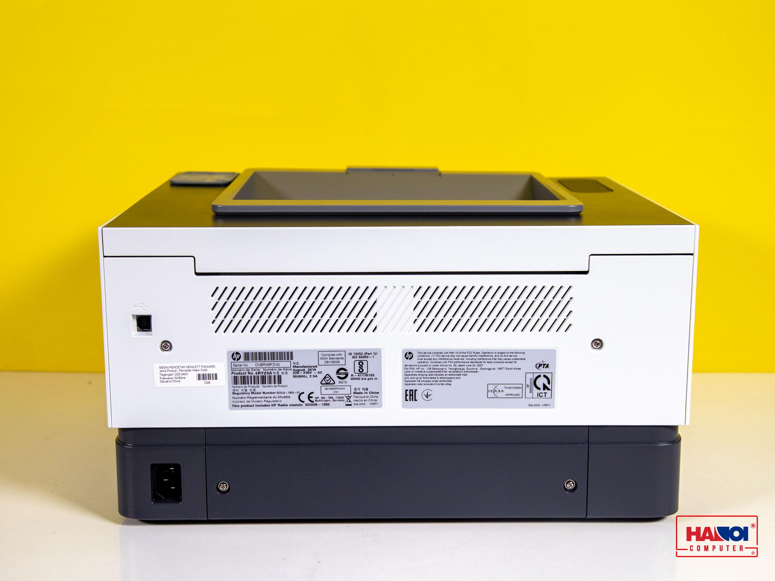Cổng kết nối Máy in HP Neverstop Laser 1000w
