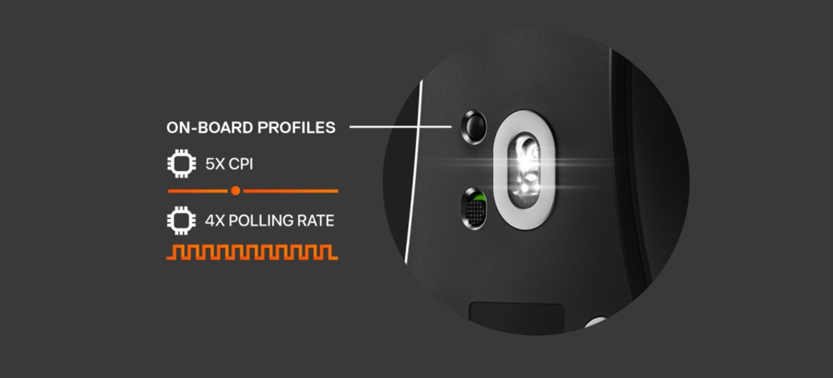 Chuột không dây Steelseries Prime wireless