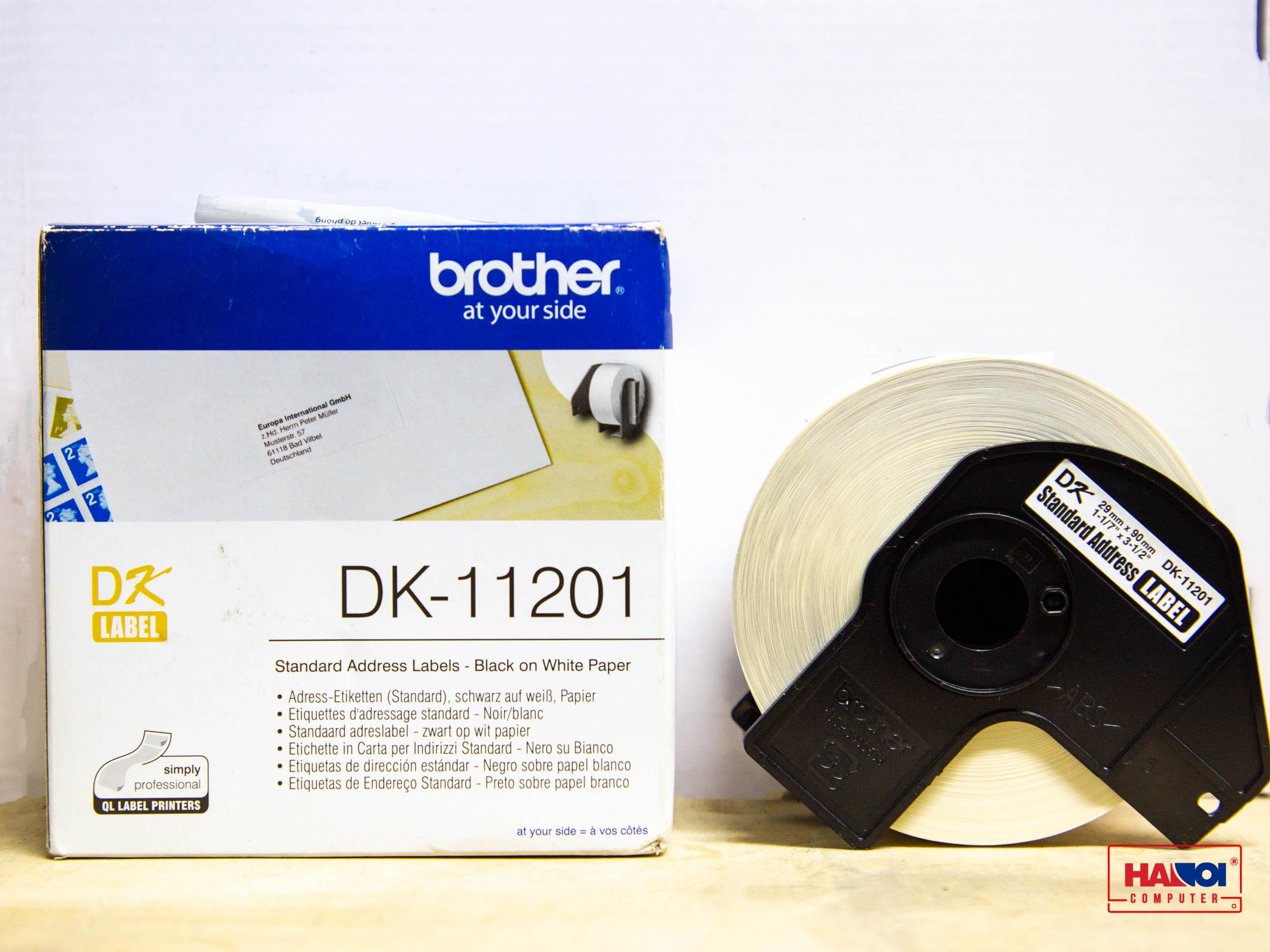 Giấy in nhãn Brother DK-11201, 29mm x 90mm_003