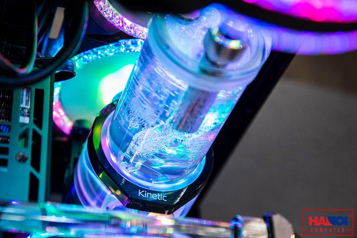 Bơm EK-Quantum Kinetic TBE 200 D5 PWM D-RGB - Plexi