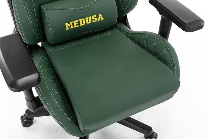 Ghế Gaming E-Dra Medusa Green (EGC209) trang bị đệm ngồi cao cấp