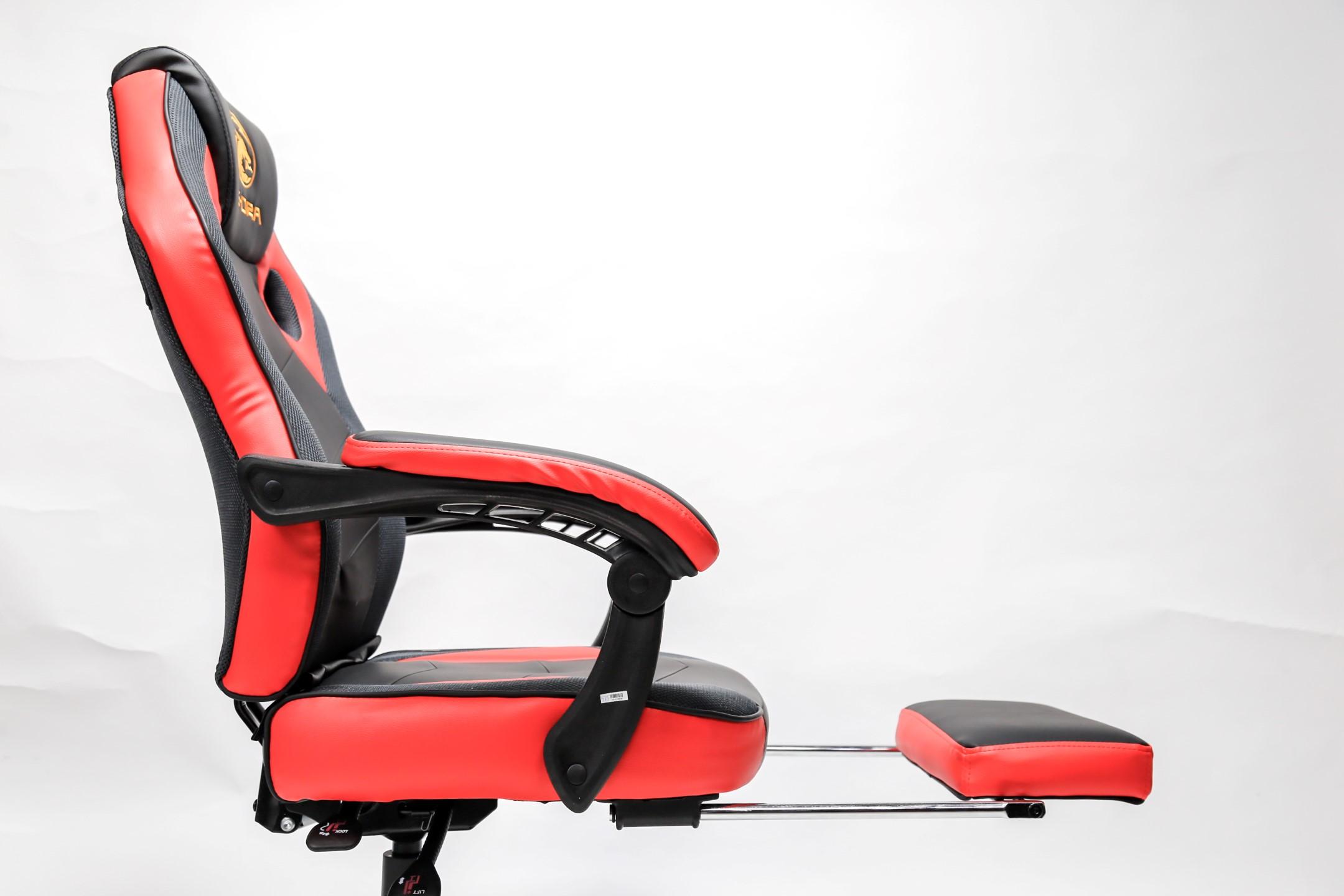 Ghế Gamer E-Dra Jupiter M Black V2 (EGC204) có kết cấu khung kim loại và đệm để chân