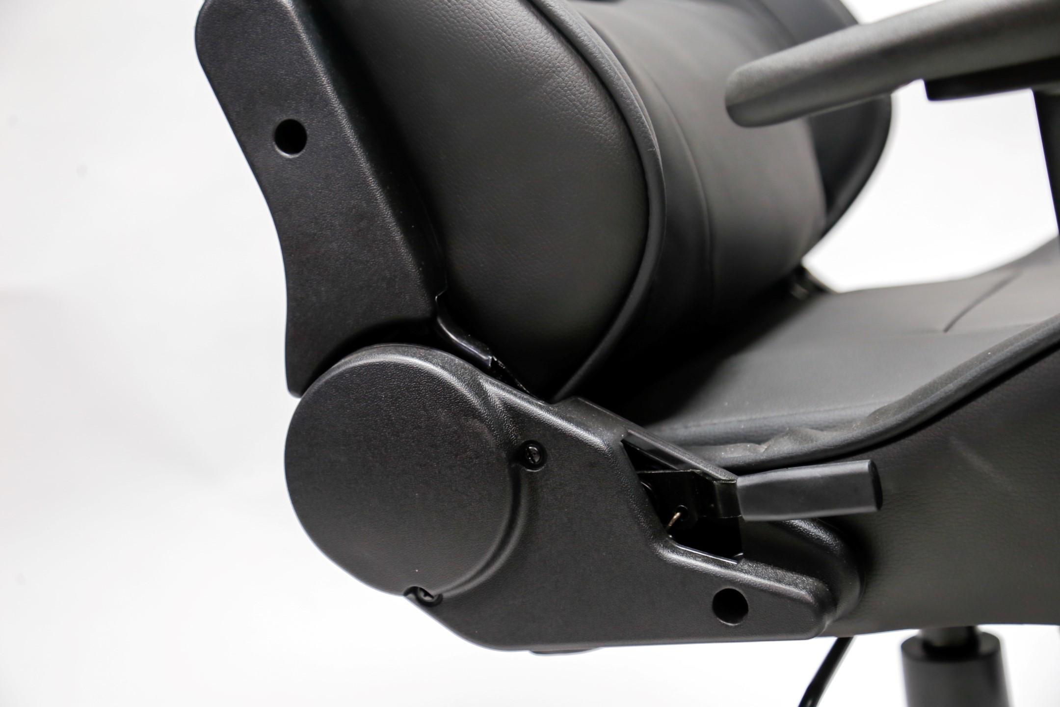 Ghế Gaming E-dra Mars EGC202 Black có thiết kế chắc chắn