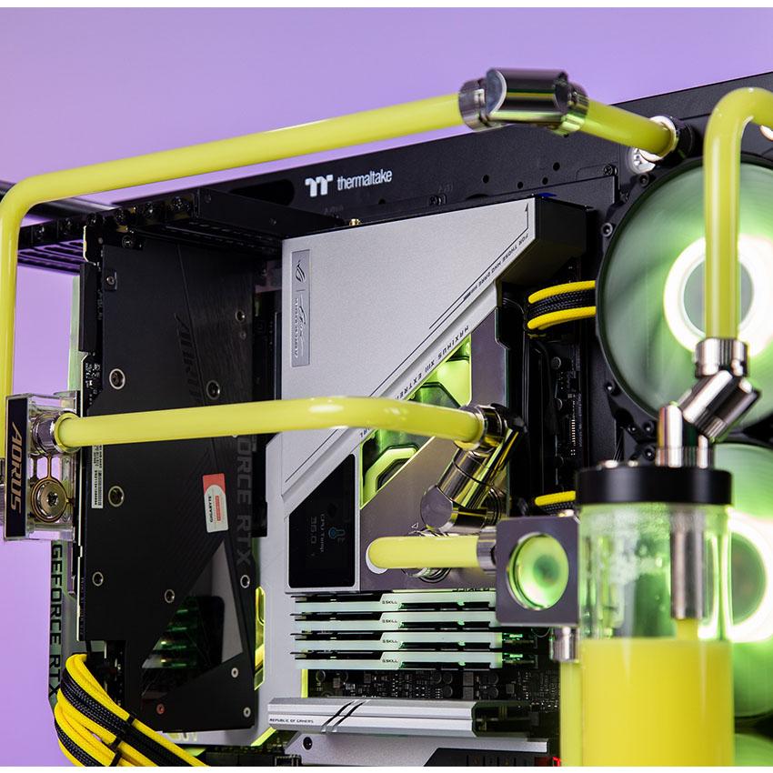 Vỏ Case Thermaltake Core P5 Tempered Glass Snow (Mid Tower/Màu Trắng) giới thiệu