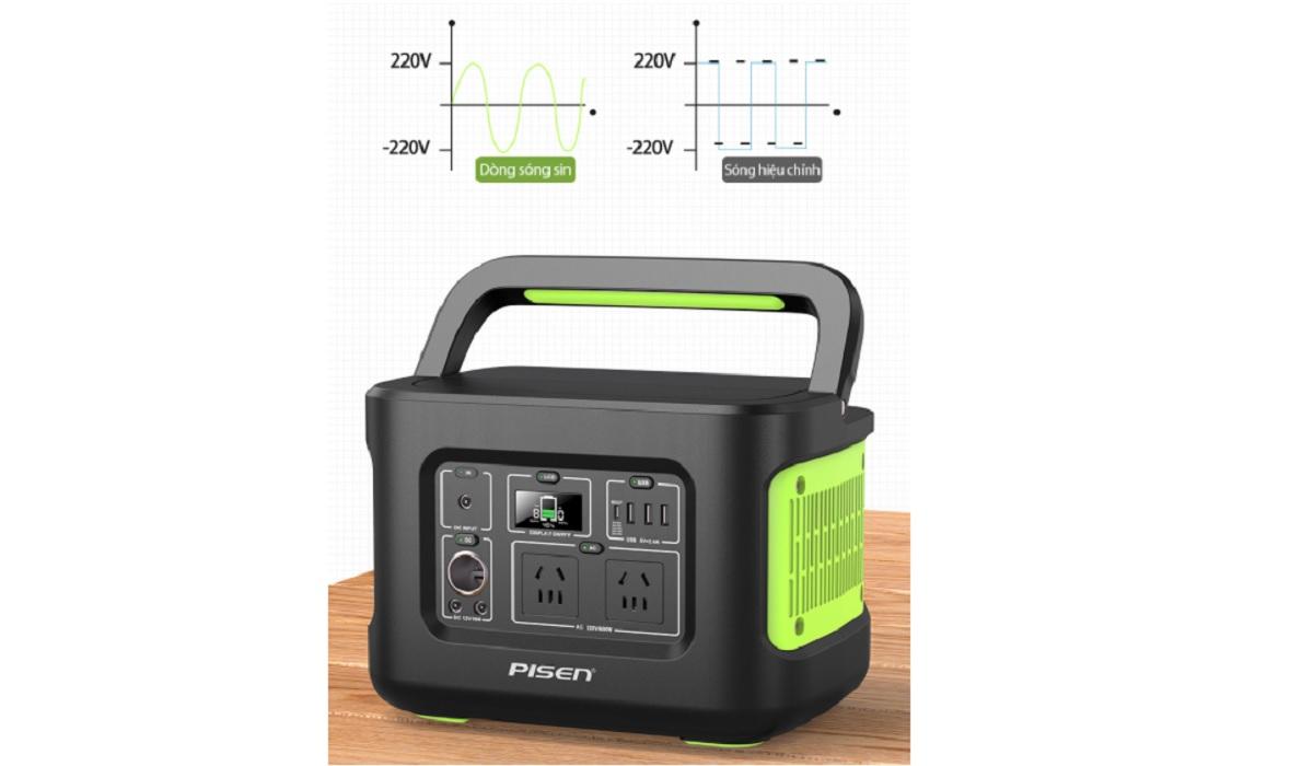 Điện SIn Bộ lưu điện du lịch PISEN PS-CL026C35