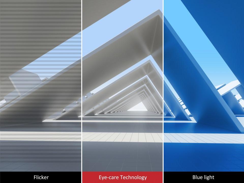 Màn hình Viewsonic VX2480-bảo vệ mắt