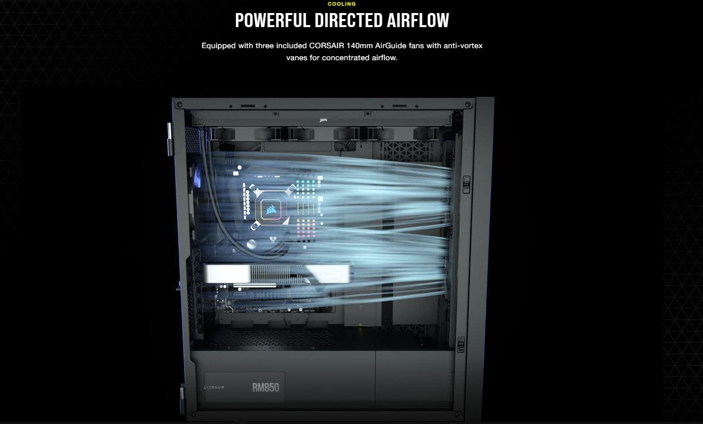 Vỏ máy tính Corsair 7000D Airflow TG White giới thiệu 2