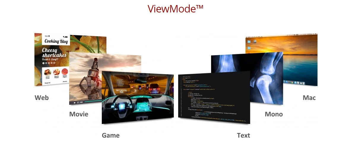 Màn hình Viewsonic VX2718-P-MHD-Viewmode