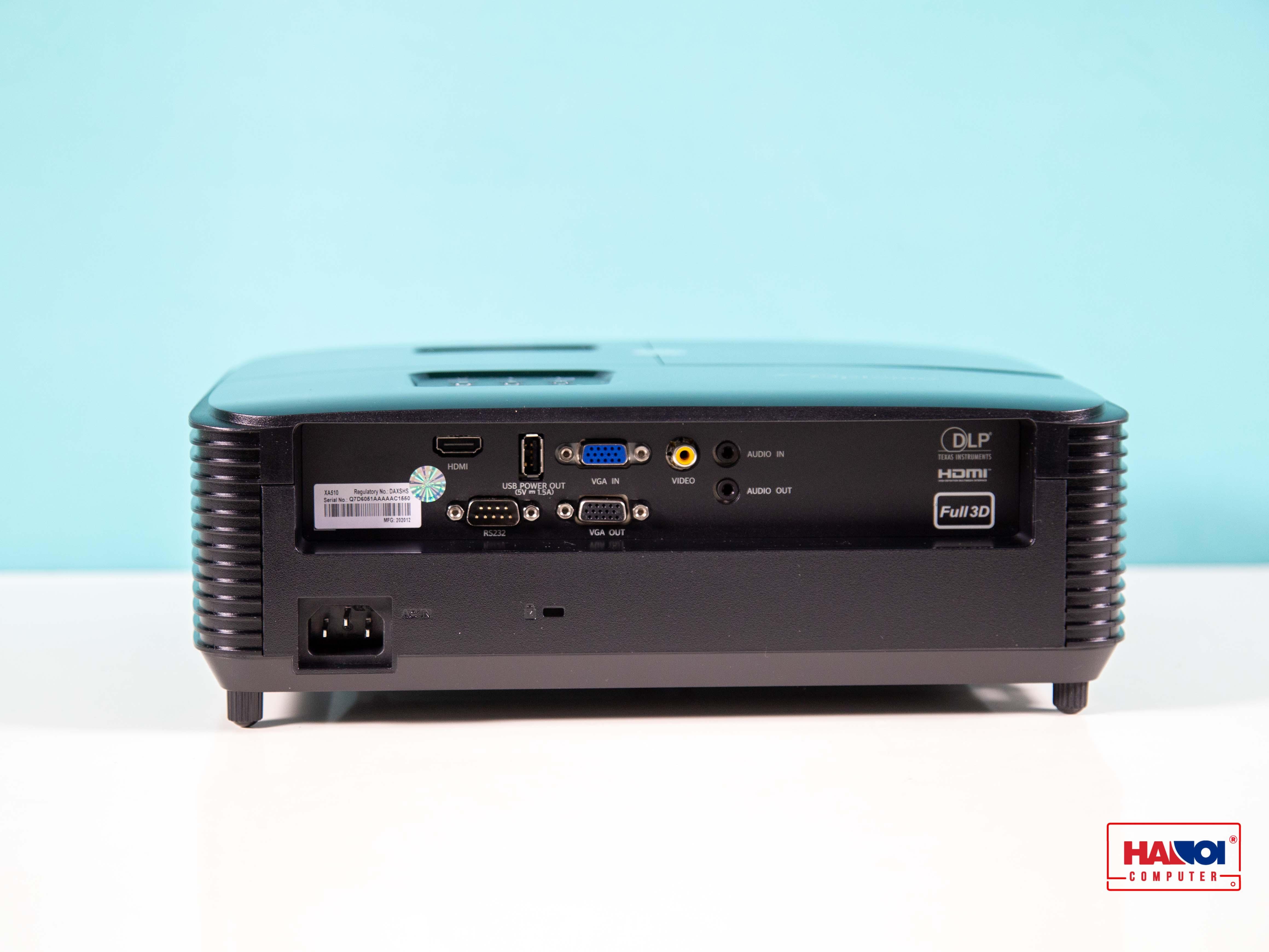 Cổng kết nối Máy Chiếu đa năng Optoma XA510