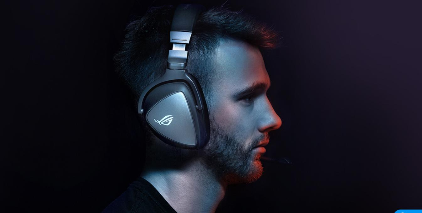 Tai nghe Asus ROG Delta Core cho âm thanh chi  tiết cao cấp
