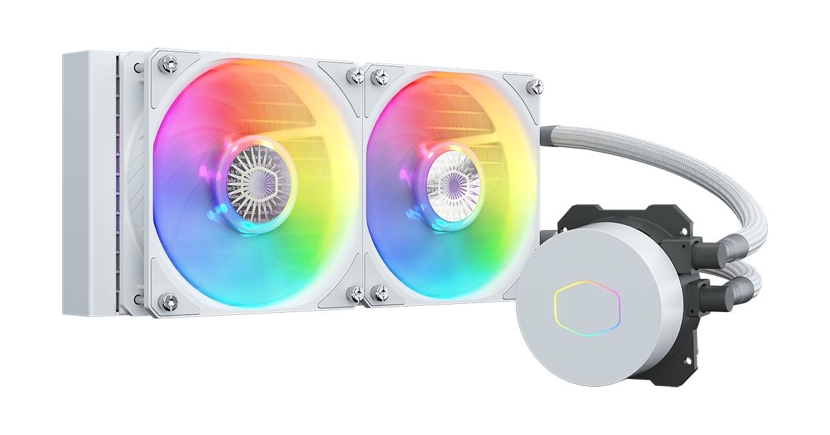 Tản nhiệt nước CPU Cooler Master MasterLiquid ML240L ARGB V2 White Edition full