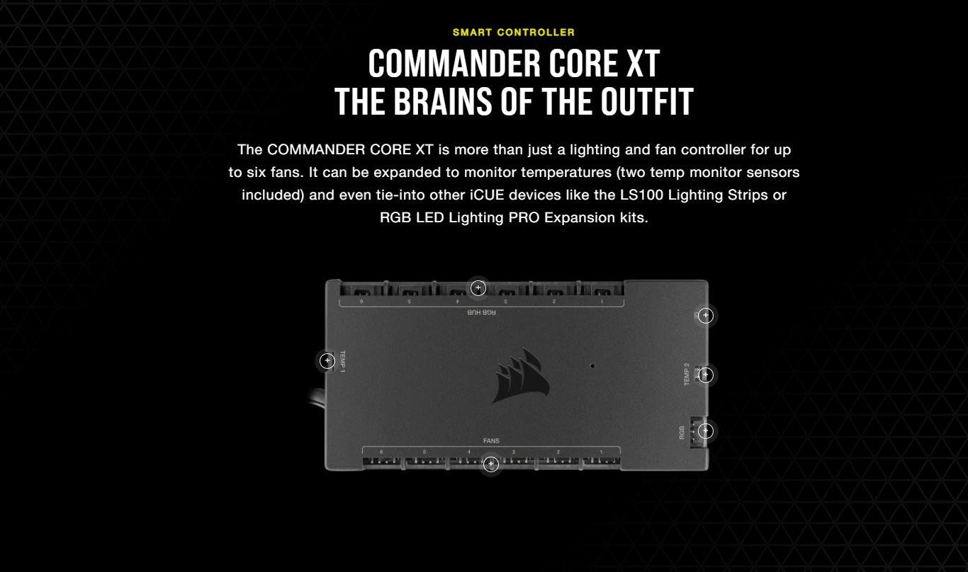 Vỏ máy tính Corsair iCUE 7000X RGB TG White giới thiệu 4