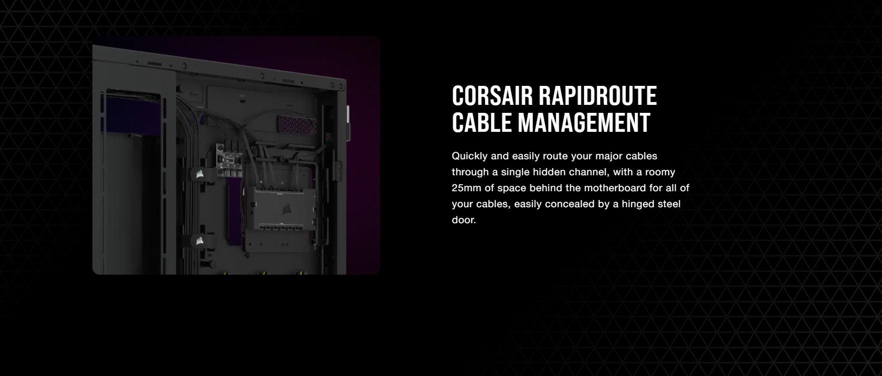 Vỏ máy tính Corsair iCUE 7000X RGB TG White giới thiệu 7