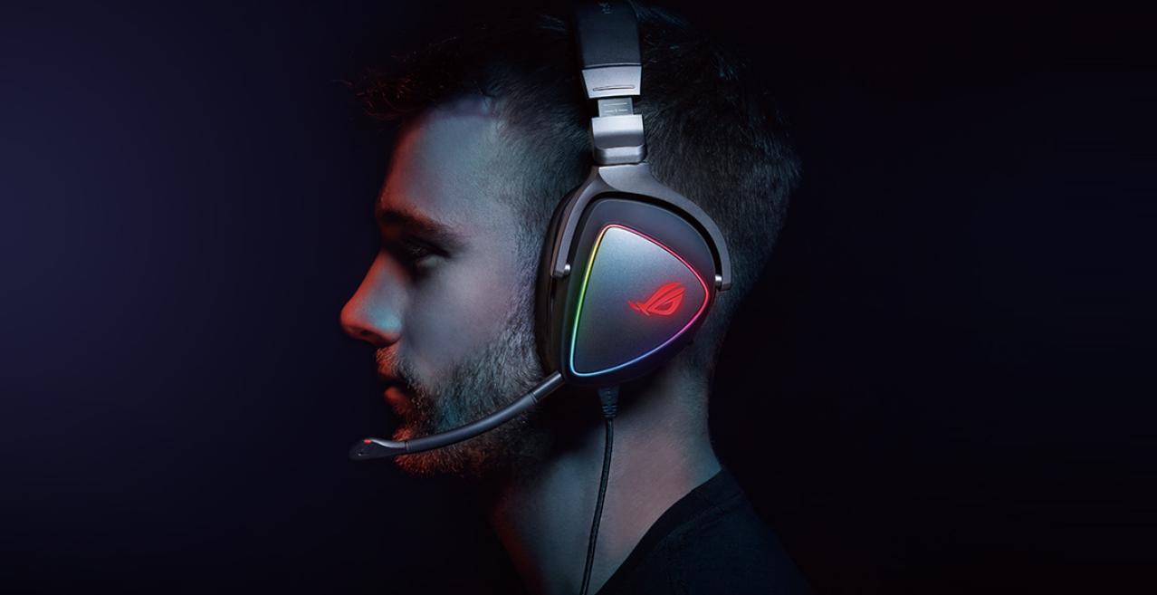 Tai nghe Gaming Asus ROG Delta S chiến game cực đã
