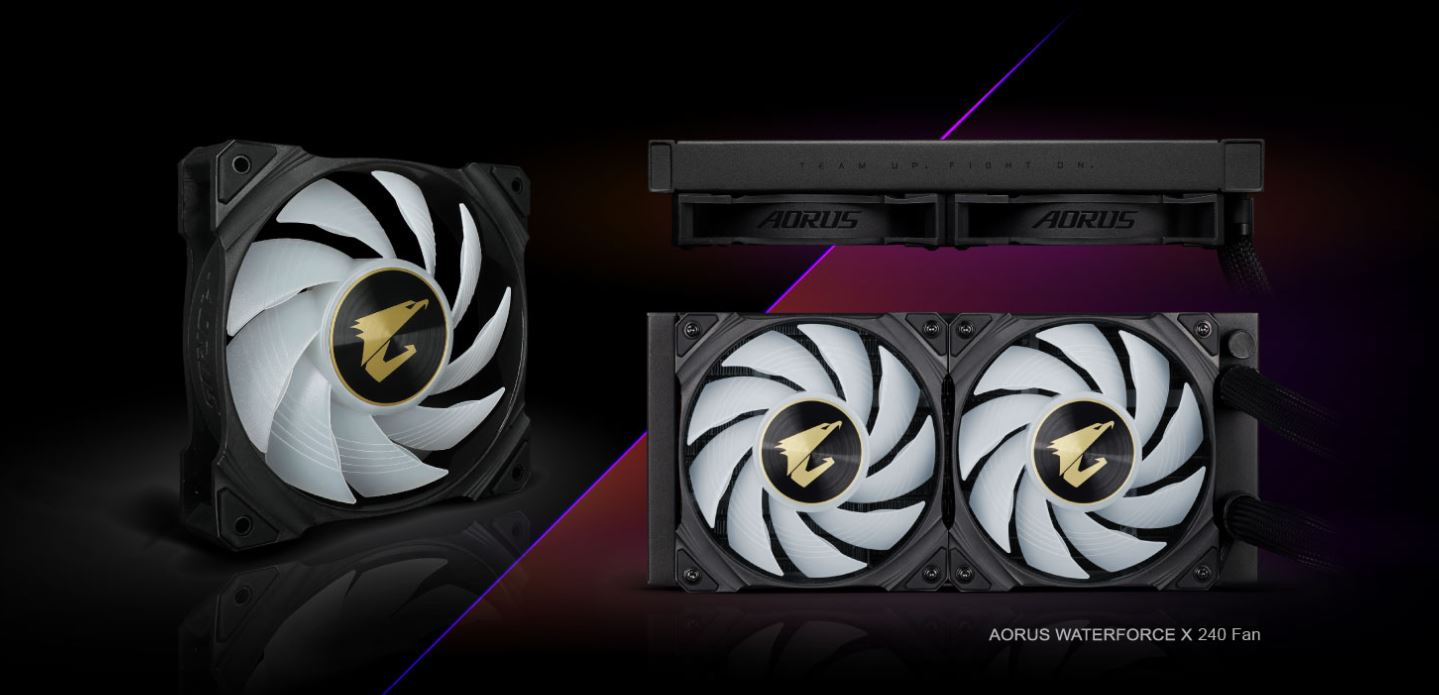 Tản nhiệt nước CPU AIO GIGABYTE AORUS WATERFORCE X 240 giới thiệu 2