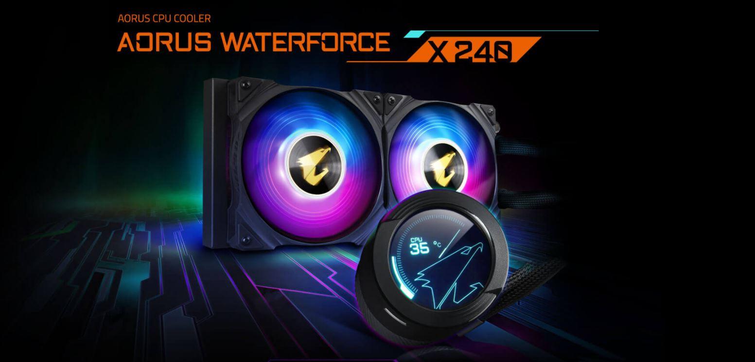 Tản nhiệt nước CPU AIO GIGABYTE AORUS WATERFORCE X 240 giới thiệu