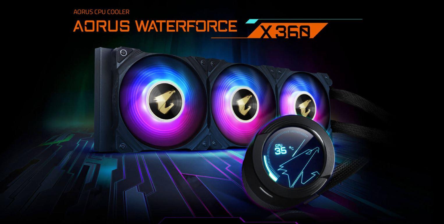 Tản nhiệt nước CPU AIO GIGABYTE AORUS WATER FORCE X 360 giới thiệu full