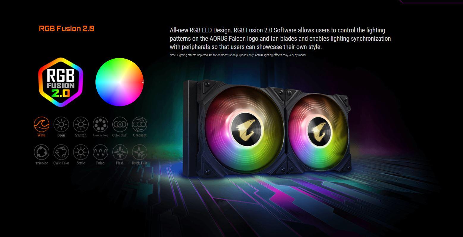 Tản nhiệt nước CPU AIO GIGABYTE AORUS WATER FORCE X 360 giới thiệu 15