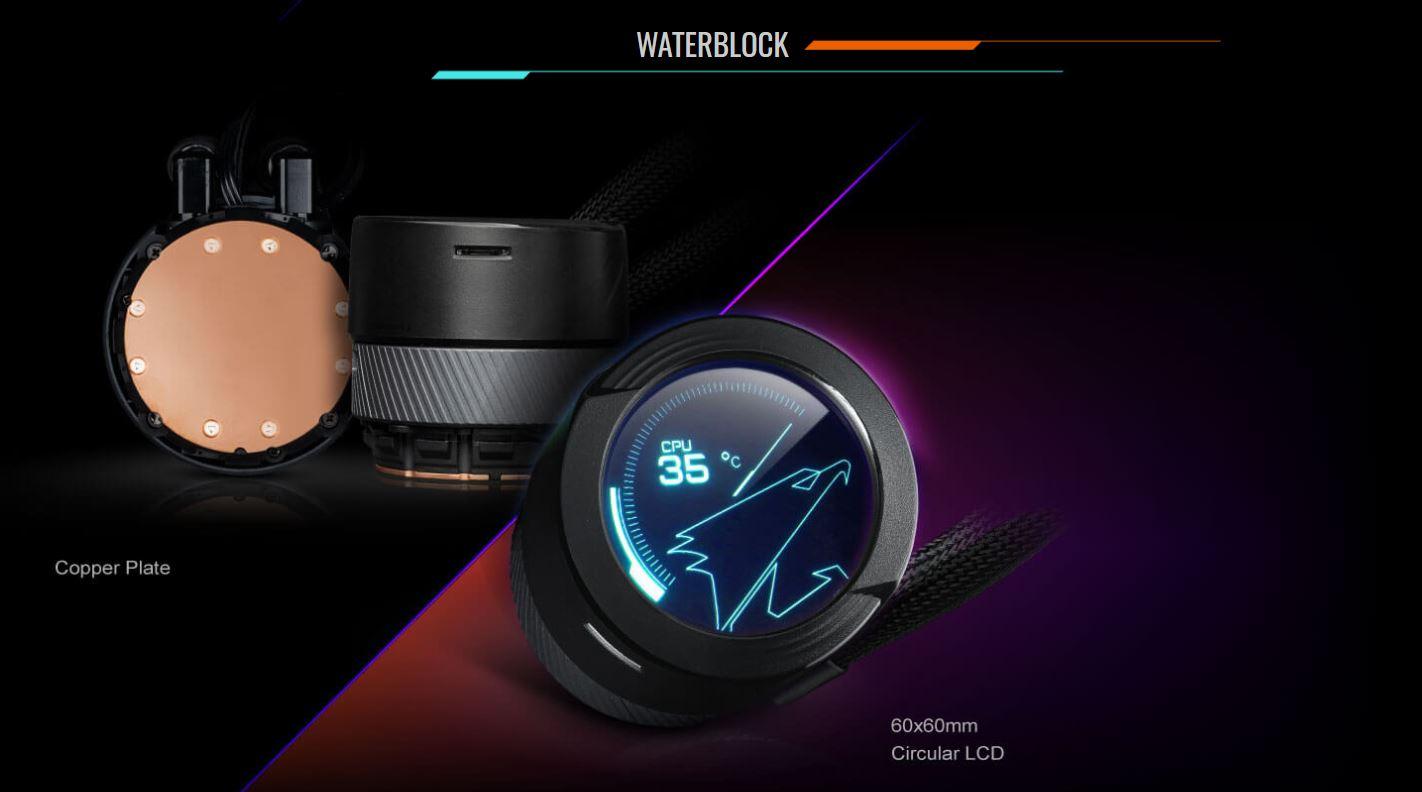 Tản nhiệt nước CPU AIO GIGABYTE AORUS WATER FORCE X 360 giới thiệu 2