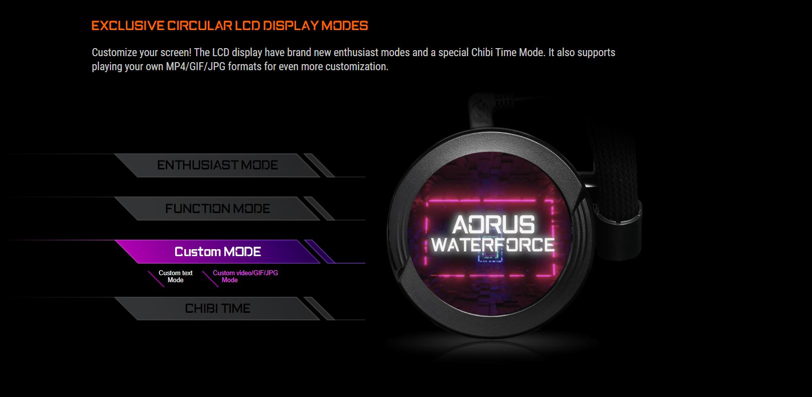 Tản nhiệt nước CPU AIO GIGABYTE AORUS WATER FORCE X 360 giới thiệu 7