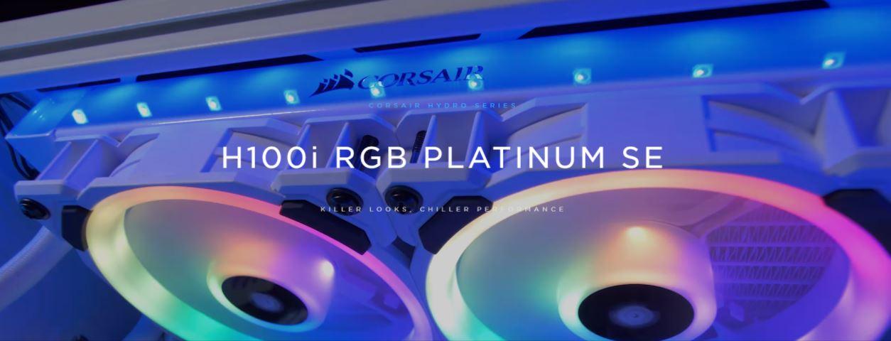 Tản nhiệt nước Corsair Hydro Series H100i RGB PLATINUM SE giới thiệu