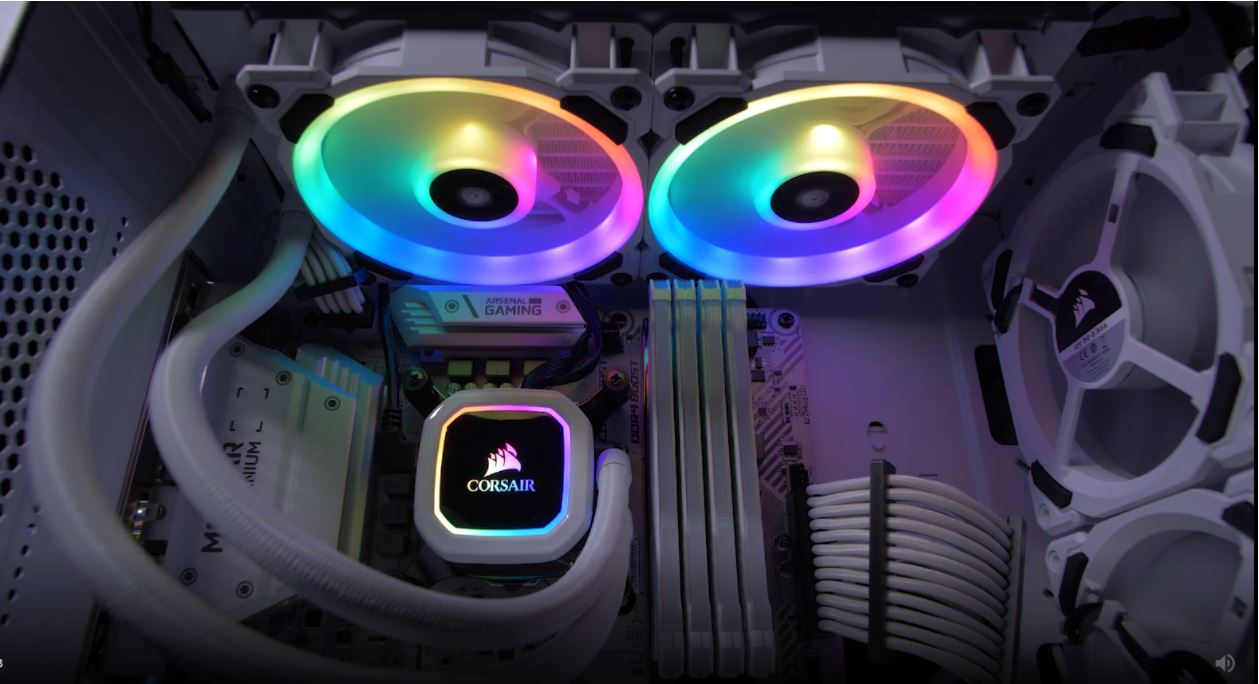 Tản nhiệt nước Corsair Hydro Series H100i RGB PLATINUM SE giới thiệu 3