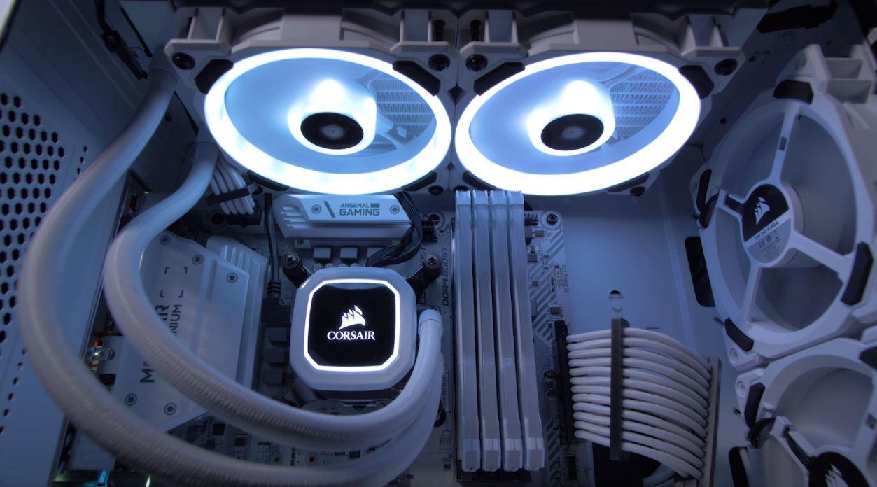 Tản nhiệt nước Corsair Hydro Series H100i RGB PLATINUM SE giới thiệu 4