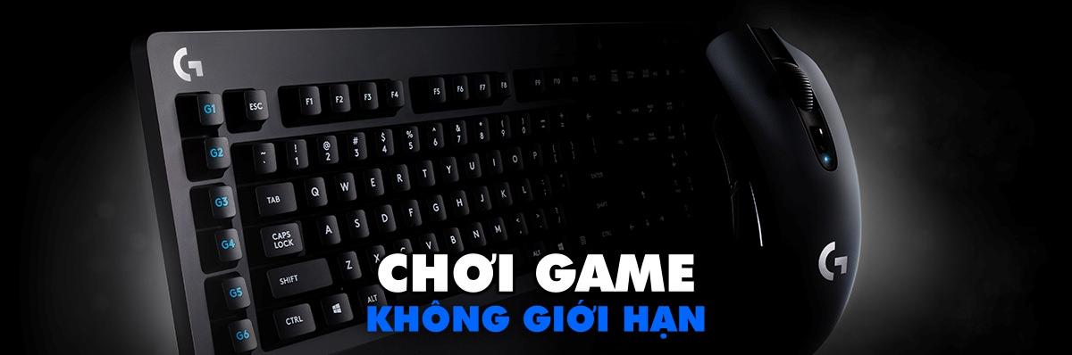 Bàn phím cơ Logitech G613 Wireless Mechanical Gaming