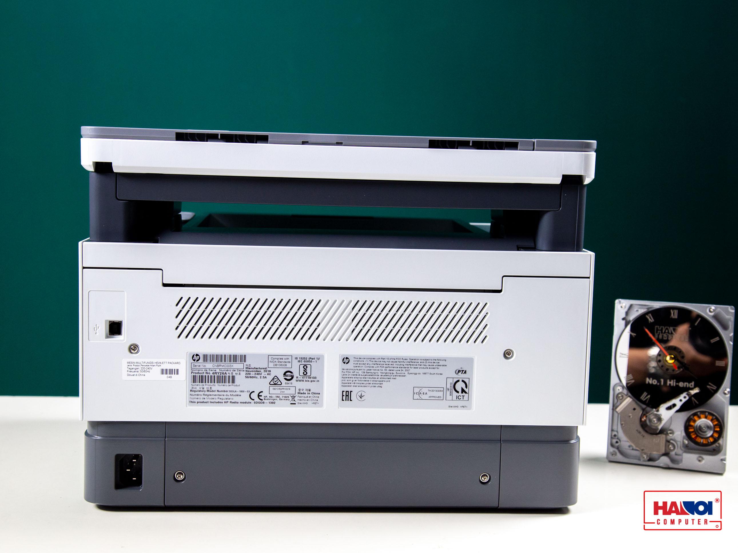 kết nối Máy in đa chức năng HP Neverstop Laser 1200w