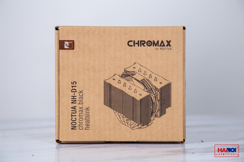 Tản nhiệt khí NOCTUA NH-D15 Chromax Black full box 1