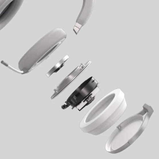 Tai nghe không dây Gaming Corsair Virtuoso RGB White (CA-9011186-AP) đem lại chất lượng âm thanh vượt trội